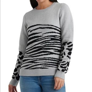 Lucky Brand Animal Print Sweater - New with Tags!